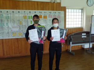第48回福島県テニス選手権大会一般女子シングルス入賞者