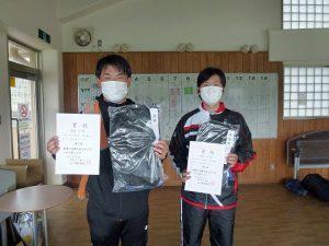 第48回福島県テニス選手権大会35歳以上男子シングルス入賞者
