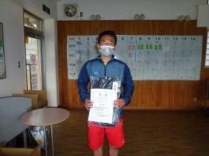 第48回福島県テニス選手権大会40歳以上男子シングルス優勝