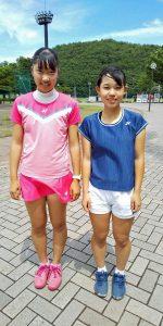第76回国民体育大会テニス競技少年の部選手選考大会女子代表