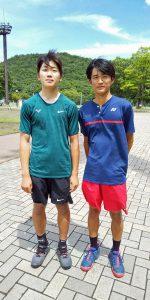 第76回国民体育大会テニス競技少年の部選手選考大会男子代表