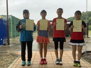 2021日植杯RSK全国選抜ジュニアテニス選手権福島県予選女子シングルス入賞者