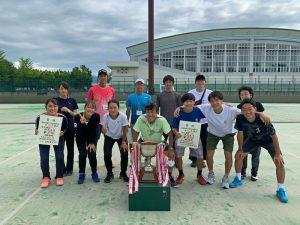 第48回東北総合体育大会テニス競技福島県チーム