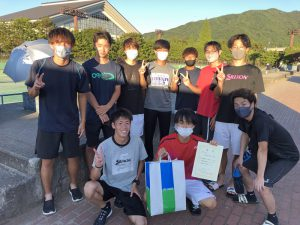 第63回福島県クラブ対抗テニス大会2位