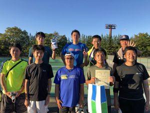 第63回福島県クラブ対抗テニス大会3位